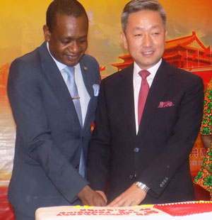 Namibia joins China in 68th anniversary celebrations