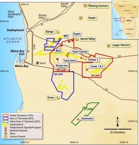 Maiden mineral resource estimate at Tumas 3 impressive – Deep Yellow