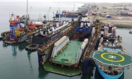 Namibian Panamax drydock swallows Angolan drydock only to spit it out brand new