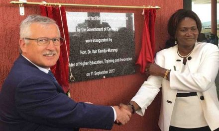 Engineer training elevated by new facilities at UNAM's Ongwediva campus
