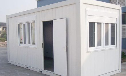 Prefabricated containers to improve access to and provision of HIV testing and care services