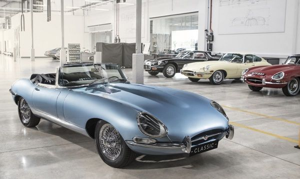 E-type Zero elegant electric prototype for all XK 6-cylinder Jaguars