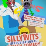 Improvisational comedy night to keep the audience entertained to the point of tears