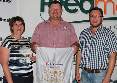 Small livestock farmers honoured at annual Agricultural Show