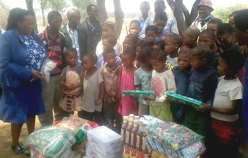 N≠a Jaqna Conservancy provides learners at local schools with nutritious food