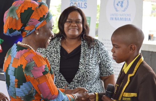 UN encourages youth to champion sustainable development