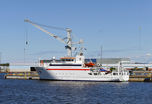 Research miracle as Mirabilis sails into Maribilis marine research project