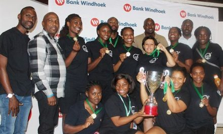 Police team deals defence force a devastating blow in volleyball finals