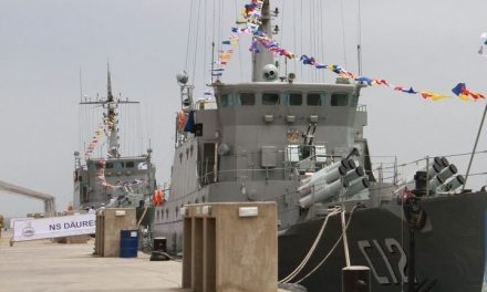 Two Chinese-built naval vessels commissioned in Walvis Bay