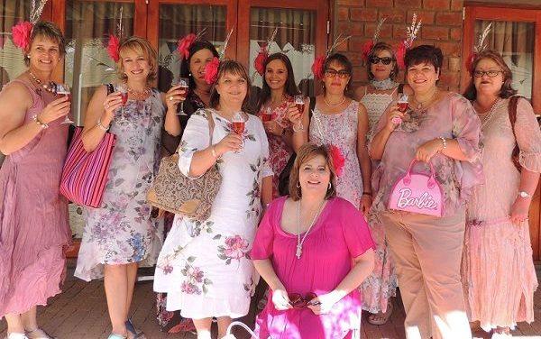 Enamoured Windhoek women start Hats & Roses preparations on Friday evening