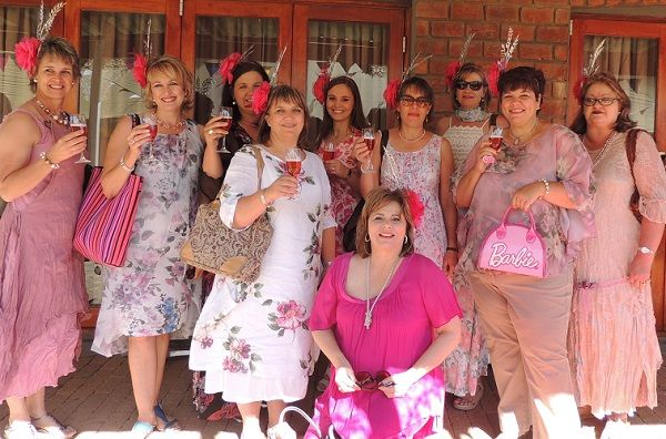 Enamoured Windhoek women start Hats & Roses preparations on Friday evening