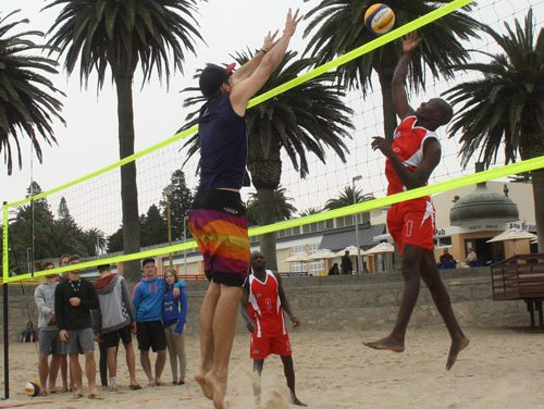 Sand, sun and fun to dominate sixth Timeout Beach Series event