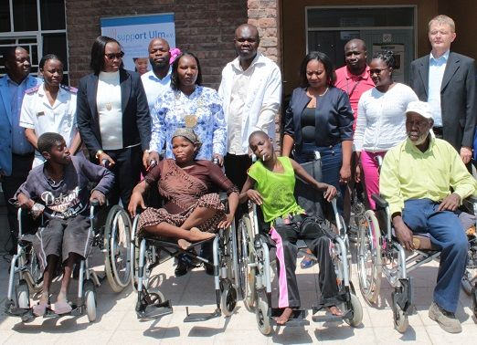 Otavi patients get own wheelchairs, some for the first time in 20 years