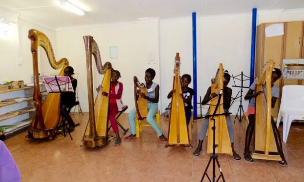 Restoring humanity through the harp
