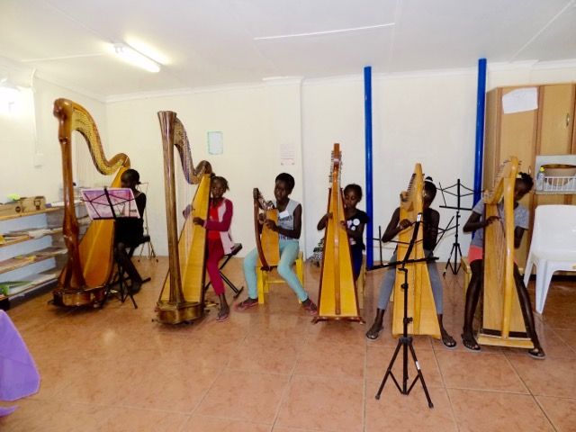 Restoring humanity through the harp