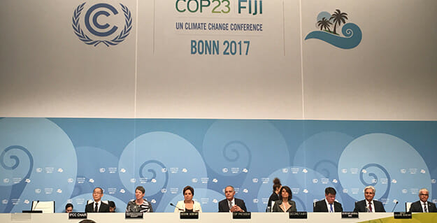 Knowledge sharing at CoP23 strengthens resilience in climate change adaptation