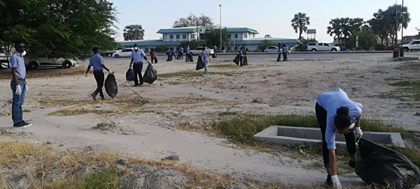 Over 2000 residents take part in Ondangwa clean-up campaign
