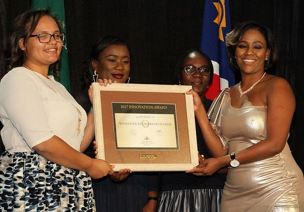 The Windhoek Entrepreneur's Base (W.E.B.) is the second runner-up in the  Innovation Award.