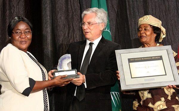 Welwitschia University won the Good Business Awards Emerging Enterprise category.