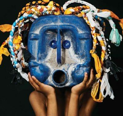 African Trash Masks bag award in Berlin