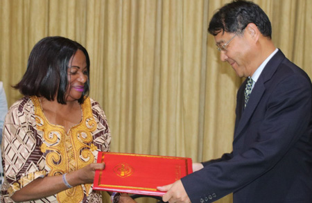 Namibia, China strengthen bilateral, economic and trade ties