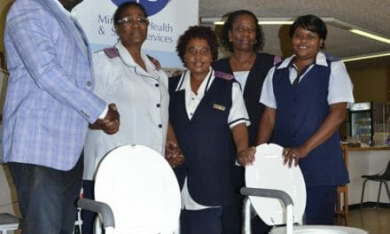 Special chairs to aid Cancer patients at Central Hospital