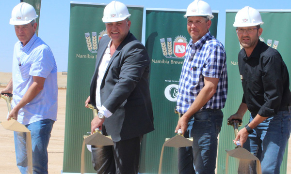 Breweries to construct new depot in Walvis Bay