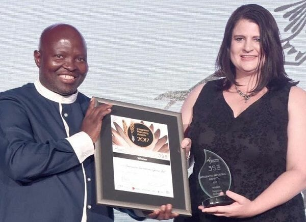 Adherence to integrated reporting best practice lands Capricorn Regional Company award