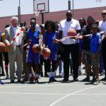 Basketball Artists School opens new court in Katutura