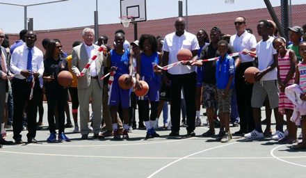 Basketball Artists School opens new court in Katutura