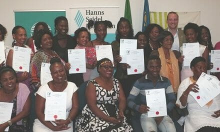 New seamstresses qualify with training by NGO's CHANGE project