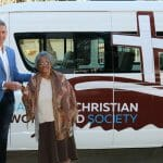 Elderly community receives a new 'set of wheels' courtesy of Imago Dei