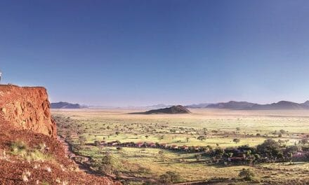 Gondwana's Namib Desert Lodge books perfect environmental score