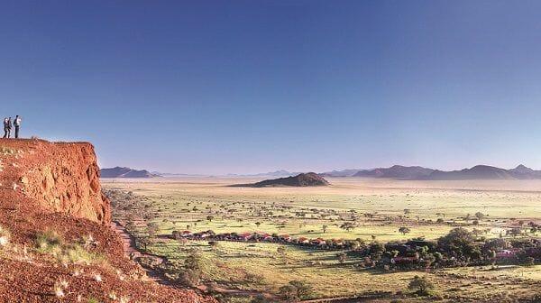 Gondwana's Namib Desert Lodge books perfect environmental score