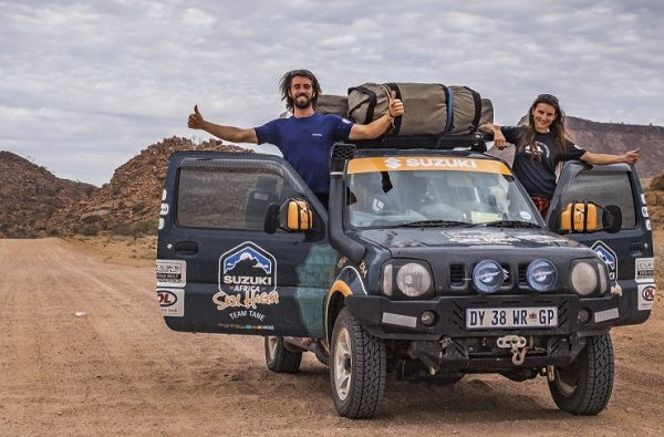 Sturdy Suzuki Jimny takes adventure couple more than 20,000 kilometres across Africa