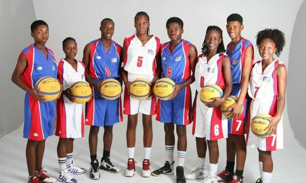 U18-Girls scoop silver at 3×3 Botswana Basketball tourney