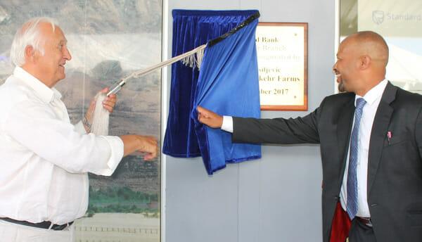 Blue Bank upgrades its Aussenkehr Branch