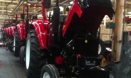 Tractor assembly plant in pipeline
