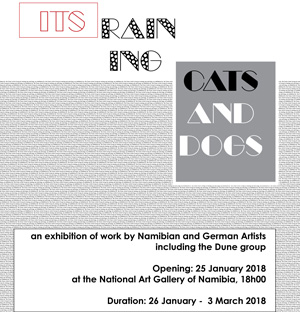 Art Gallery to showcase 'It's raining cats and dogs'