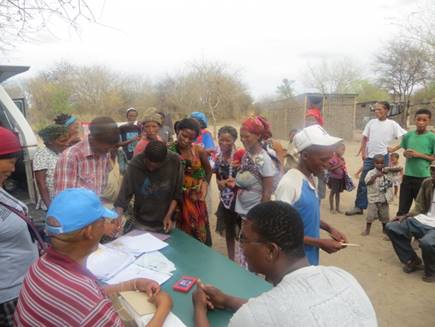 Cash benefits worth N$2.5 million distributed to the San community