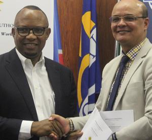 Namport, NTA ink practical internship agreement