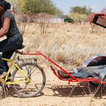 Ambulance bicycles help improve maternal and infant health in rural areas