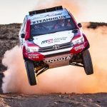 Two Peugeot teams in the lead at Dakar 2018. Hilux settles for third, fourth and fifth
