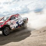 Hilux finally wins a Dakar stage but fails to change overall ranking