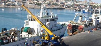 Port Luderitz ready to assist bigger shipping liners
