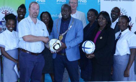 Okahandja to host FNB Global United Climate Kick 2018