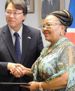 Japan's N$5 million grant to assist 6,500 learners in public schools