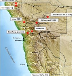 Namibia Rare Earths completes acquisition of Critical Metal Properties