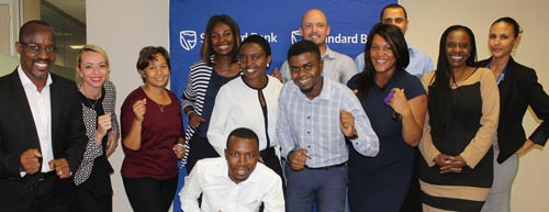 Fifteen Blue Bank employees to take on the grueling Two Oceans Marathon