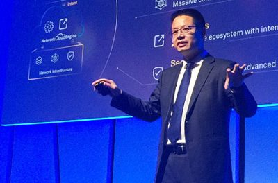 Huawei solution to bridge the gap between the physical network and business goals
